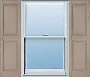 Contract with Times Siding to install many different vinyl shutter accessories to compliment their siding installation.