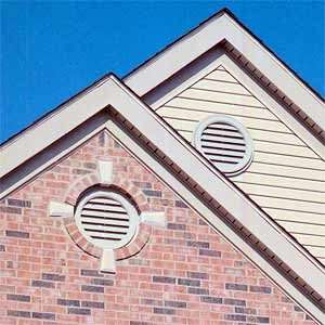 Contract with Times Siding to install gable vents to compliment their siding installation.
