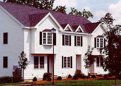 Times Siding and Windows has worked on many existing townhouses and condominium developments.